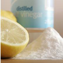 image of natural cleaning recipe ingredients
