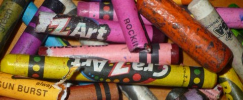 Instructions For Reusing Your Old Crayons That Are Fast, Easy, and FUN!