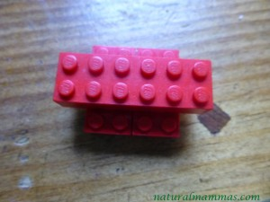 lego christmas tree instructions step one - the base